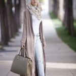 latest cardigan hijab styles for 2017 fashion