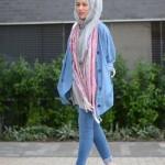 fashionable hijab fashion style 2017