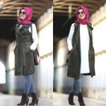 easy and casual hijab street style 2016