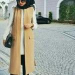 casual hijab street styles ideas 2016