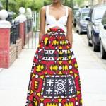 ankara maxi skirts fashion style 2016
