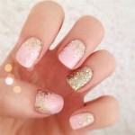 glitter nail designs for 2016 new