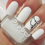 white nail art designs for 2017