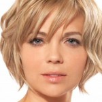 simple short haircuts for round faces 2016