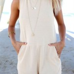 summer jumpsuit outfit for women 2016