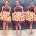 ankara short dresses for Women 2016 2017