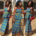 2016 ankara peplum dresses styles