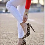 womens white outfit pants 2016