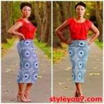 shweshwe traditional skirt fashion  2016 2017