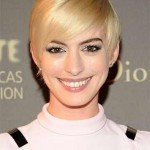 anne hathaway and hairstyles 2016