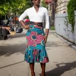 2016 designer shweshwe skirts