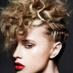 cute punk hairstyles for curly hair 2016 2017