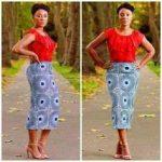shweshwe traditional skirt fashion 2017