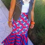 fashion ankara maxi skirt 2016 2017