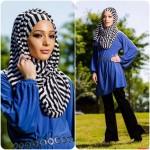 stylish abaya and hijab styles 2016 2017