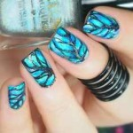 trendy winter nail art designs 2016