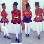 ankara peplum fashion 2016 look book