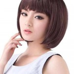 pretty korean short hairstyles  2016 2017
