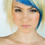 Short Hairstyles for Oval Faces with Funky Style