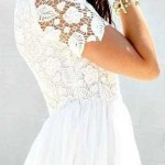 cute white lace dresses for 2016 2017