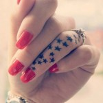 star tattoos designs for girls 2016