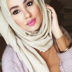 Hijab styles for different face shapes 2016 2017