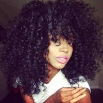 black curly hairstyle designs 2016 2017