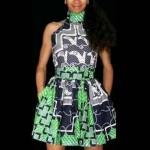 ankara short dresses styles 2016 for women