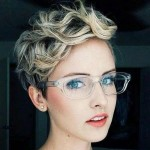 hair color with shaggy broken curls 2016 2017
