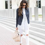 The white jeans outfit 2016 for women
