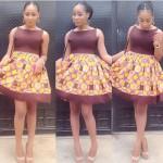 2016 2017 latest ankara styles short gown