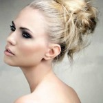cutest messy updo hairstyles for 2016 _ 2017