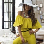 lovely yellow outfit ideas for 2016