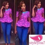 ankara blouses peplum tops 2016 2017