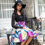ankara print midi skirts for 2016