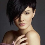 elegant  Short hairstyles for round faces  2016