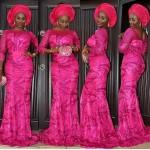 inspiring pink aso ebi 2016 2017 styles