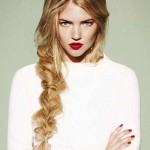 stylish messy braided hairstyle  2016