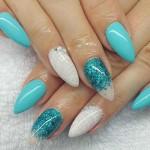 trendy summer nail art designs For 2016