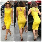 yellow outfit for women 2016 2017