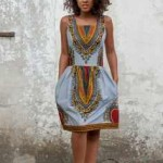 Kitenge/Ankara African dresses 2016 2017