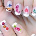 new flower nails art designs 2016 2017