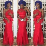 inspirational lace gown aso ebi styles 2017