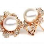 pearls earring designs for women 2017