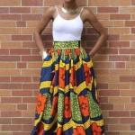 style ankara maxi skirts 2016 2017