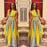 ankara styles and print outfit 2017