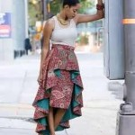 african print skirt high low skirts 2017