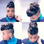 best black braided hairstyles 2016