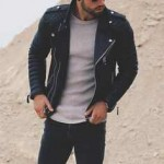 trendy mens leather jackets 2017