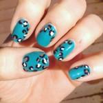 top cheetah print nail art 2016 2017
